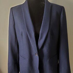 J.Crew navy wool blazer